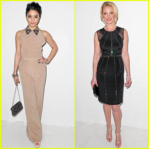 Vanessa Hudgens & Katherine Heigl: Jenny Packham Fashion Show!