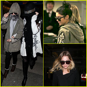 Vanessa Hudgens &#038; Selena Gomez: Back in Los Angeles!