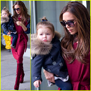 Victoria Beckham & Harper: New York City for Fashion Week!