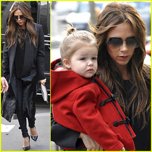 Victoria Beckham & Harper: Parisian Shoppers!