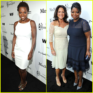 Viola Davis & Octavia Spencer: Women in Film Pre-Oscar Cocktail Party