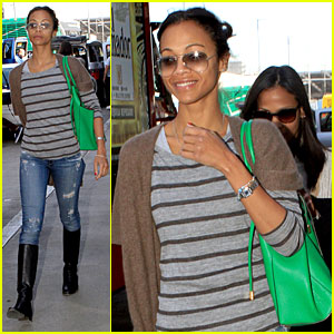 Zoe Saldana: Film Independent Spirit Awards Presenter!