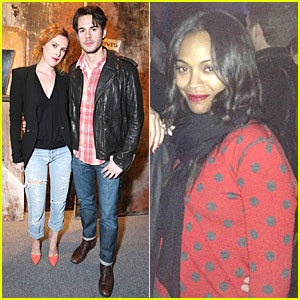 Zoe Saldana: Levi's 140th Year Anniversary Party!