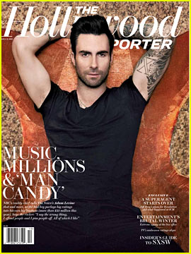 Adam Levine Covers 'The Hollywood Reporter'