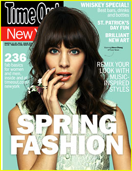 Alexa Chung Covers Time Out New York's Spring Fashion Issue