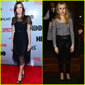 Allison Williams: 'Phil Spector' Premiere with Zosia Mamet!