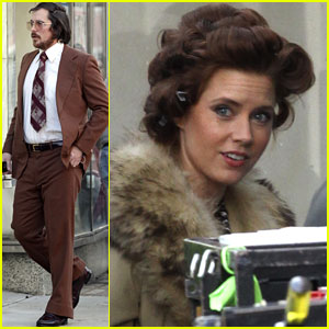 Amy Adams & Christian Bale: Boston Filming Duo!