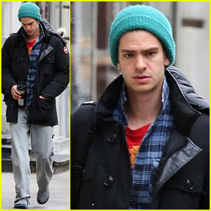 Andrew Garfield: Bundled Up in the Big Apple!