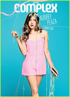 Aubrey Plaza Covers 'Complex' April/May 2013 Issue!