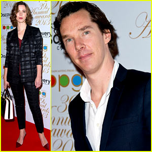 Benedict Cumberbatch & Rebecca Hall Win Press Guild TV Awards for 'Parade's End'!