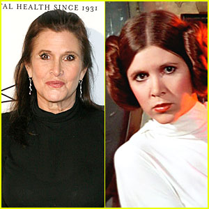 Carrie Fisher: Princess Leia in 'Star Wars VII'!