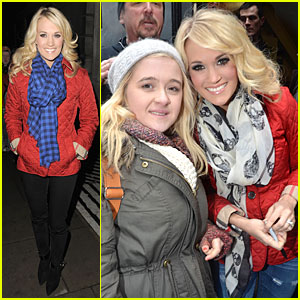 Carrie Underwood: Dublin Sang Every Word With Me!