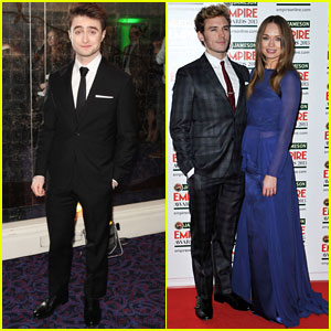 Daniel Radcliffe & Sam Claflin: Jamseon Empire Awards 2013
