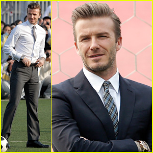 David Beckham: Beijing Guo'an Football Club Visit!