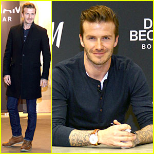 David Beckham: H&M Bodywear Promotion in Berlin!