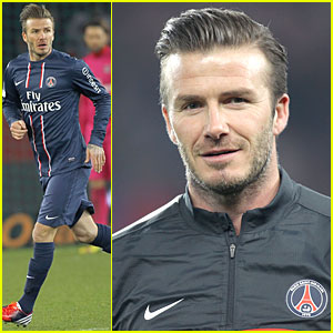 David Beckham: I Feel Comfortable with Paris St. Germain!