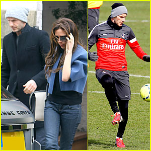 David Beckham & Victoria Beckham: Harper's Nursery Search!