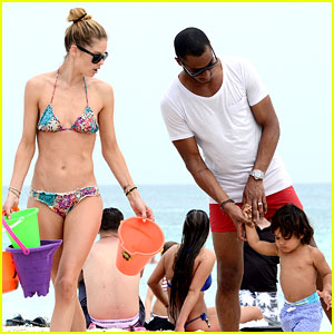 Doutzen Kroes & Sunnery James: Beach Day with Phyllon!