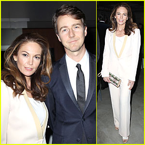 Edward Norton & Diane Lane: Caro Federico Tribute!