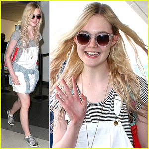 Elle Fanning: 'Jimmy Kimmel Live' on Wednesday!