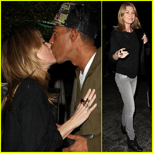 Ellen Pompeo & Chris Ivery: Date Night Kisses!