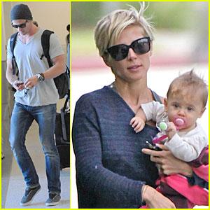 Elsa Pataky Chris Hemsworth Baby