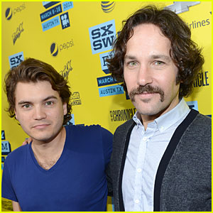 Emile Hirsch & Paul Rudd: 'Prince Avalanche' SXSW Screening!