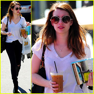 Emma Roberts: 'Delirium' Has First Table Read!