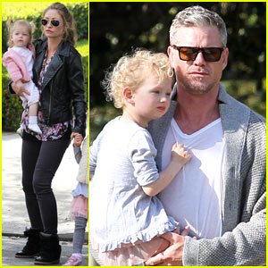 Eric Dane & Rebecca Gayheart: Birthday Bash with Billie & Georgia!