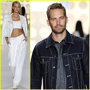 Erin Heatherton & Paul Walker: Colcci Runway Models!