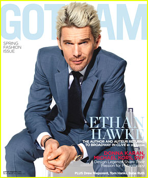 Ethan Hawke Covers 'Gotham' Spring Fashion Issue