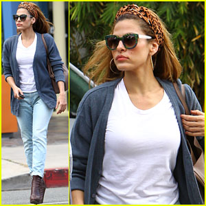 Eva Mendes: Afternoon with Hugo