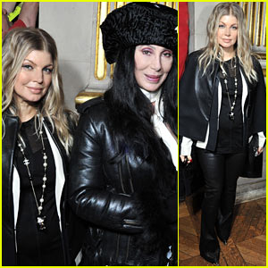 Fergie: Balmain Paris Fashion Show with Cher!