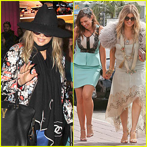 Fergie: Bridal Shower with Sister Dana!