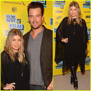 Fergie & Josh Duhamel: 'Scenic Route' SXSW Screening ...