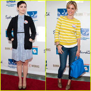 Ginnifer Goodwin & Julie Bowen: Milk + Bookies Story Time!