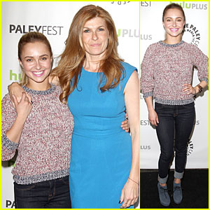 Hayden Panettiere & Connie Britton: PaleyFest with 'Nashville' Cast!