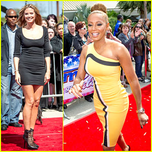 & Mel B: 'America's Got Talent' Taping! | America's Got Talent