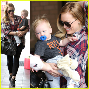 Hilary Duff: Baby Luca Turns 1!