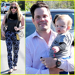 Hilary Duff & Mike Comrie: Birthday Party with Luca!