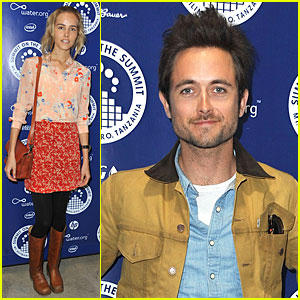 Isabel Lucas & Justin Chatwin: World Water Day Exhibition!