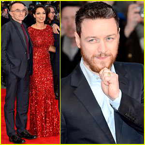 James McAvoy & Rosario Dawson: 'Trance' UK Premiere!