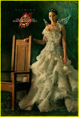 Jennifer Lawrence: 'Hunger Games: Catching Fire' Katniss Portrait!