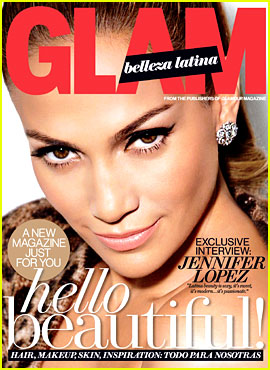 Jennifer Lopez Covers 'Glam Belleza Latina' Debut Issue