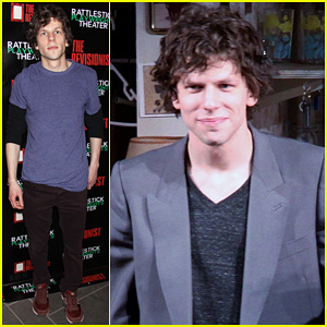 Jesse Eisenberg: 'The Revisionist' Opening Night!