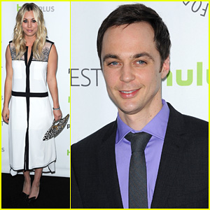 Kaley Cuoco &#038; Jim Parsons: 'Big Bang Theory' at PaleyFest!
