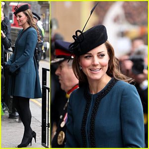 Pregnant Kate Middleton Celebrates 150 Years of the London Tube!