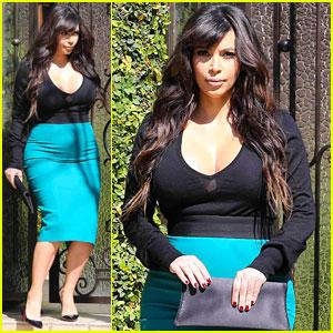 Kim Kardashian: Baby Bump in Beverly Hills!
