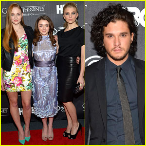 Kit Harington: 'Game of Thrones' Exhibition Opening!