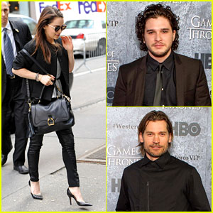 Kit Harington: 'Game of Thrones' San Francisco Premiere!